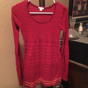 Gently loved red sweater